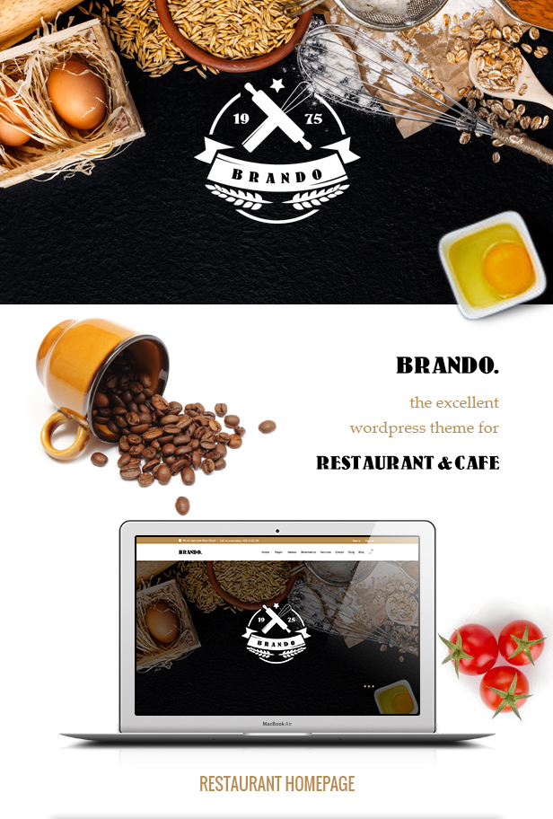 BRANDO - Restaurant & Cafe Online Booking Table