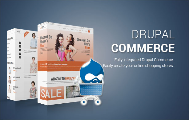 Orane - Multi-Purpose, eCommerce Drupal Theme