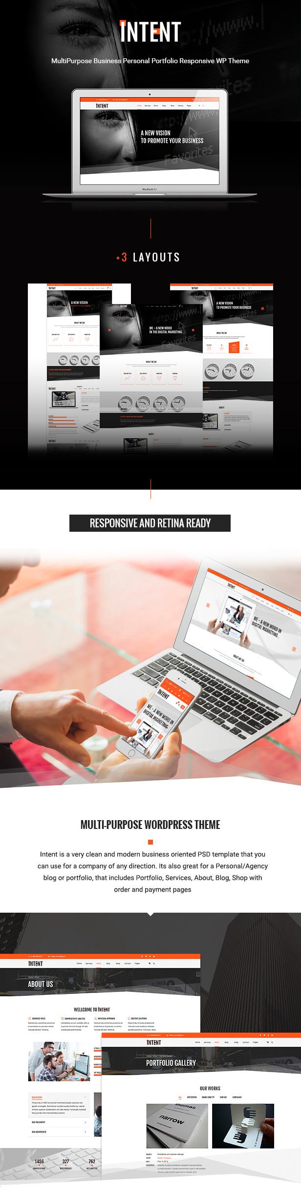 Intent Business Theme
