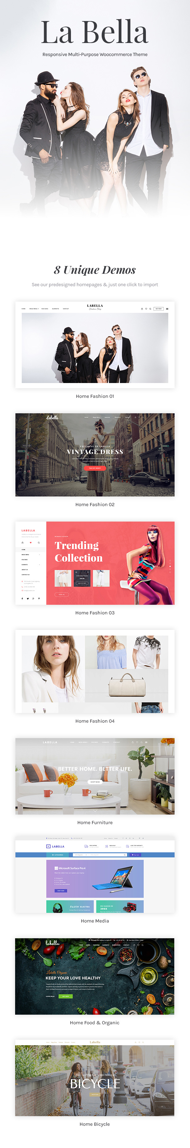 Labella - WordPress Ecommerce