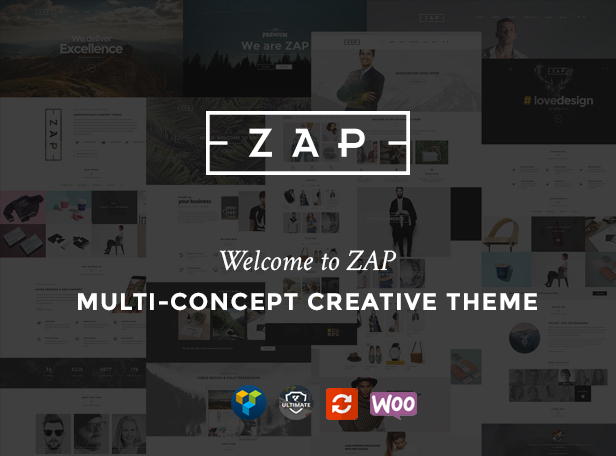 ZAP - Multi Concept Creative WordPress Theme