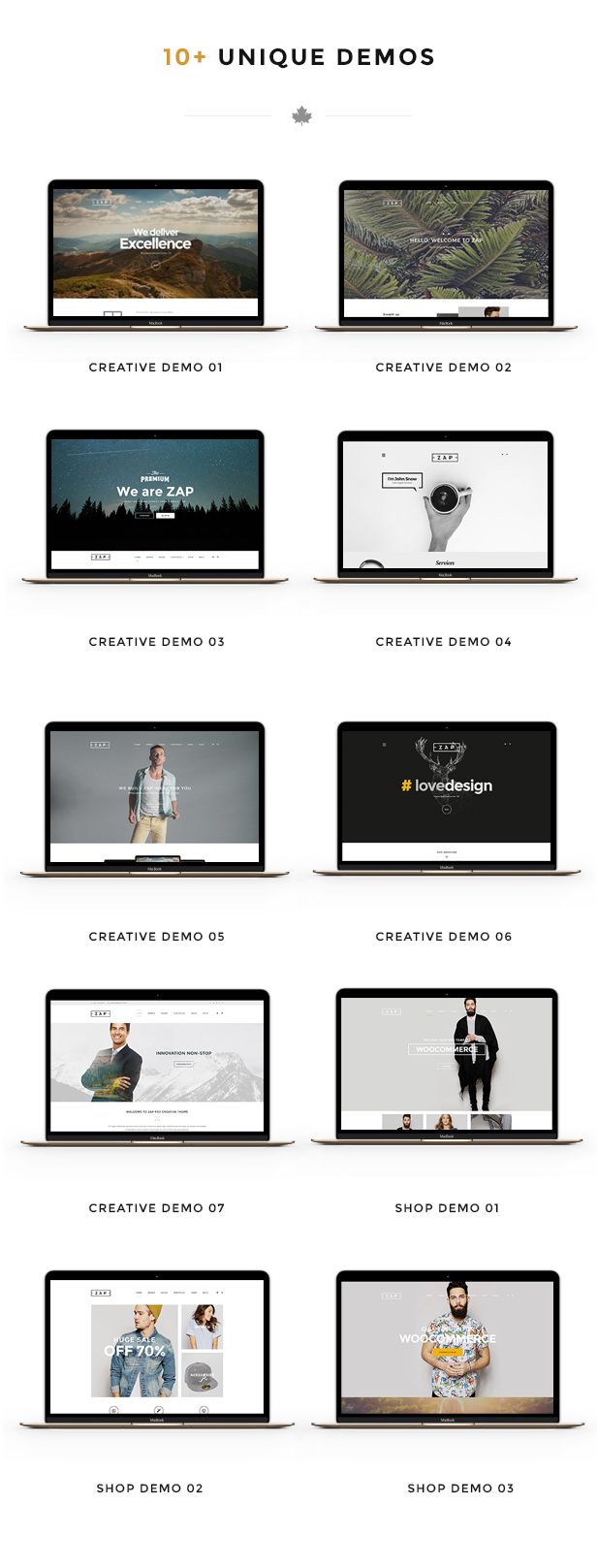 ZAP - Creative WordPress Theme