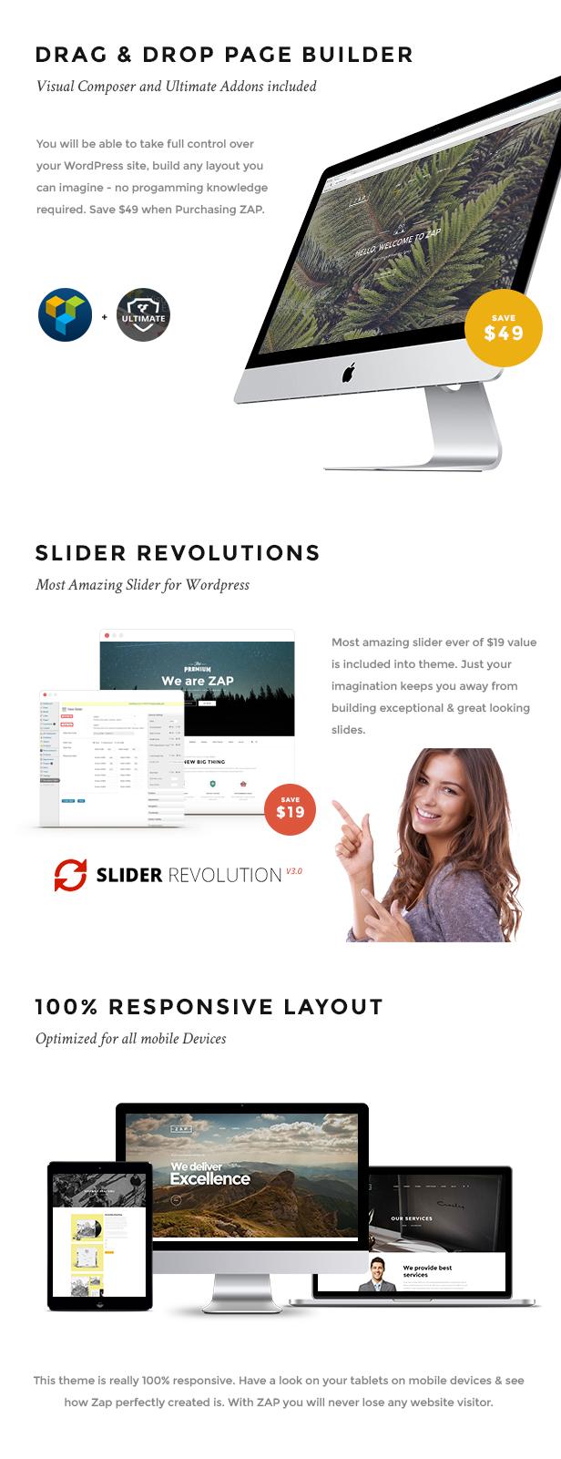 ZAP - Creative & Multi-Concept WordPress Theme